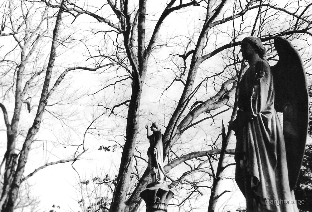 Graveyard Guardians by maryhorohoe