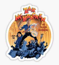 Zak McKracken cutout Sticker