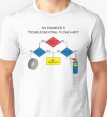 Engineering Flowchart T-Shirt