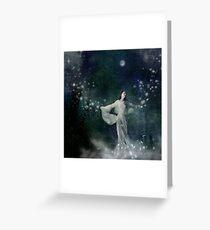 Stardancing Greeting Card