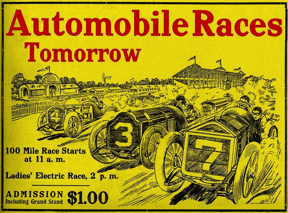 Automobile Races Tomorrow 2 by jimonym