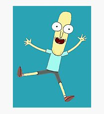 Mr. Poopy Butthole (Rick & Morty) Design Photographic Print