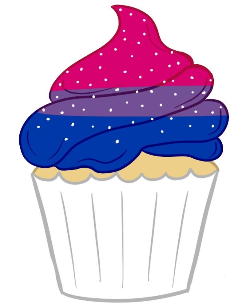Bi Cupcake by miss-spork