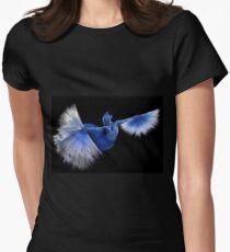 Fan Dancer Womens Fitted T-Shirt