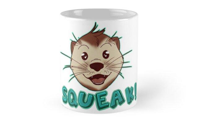 Otter Squeak! by lochcamaen