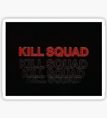 Kill Squad Sticker