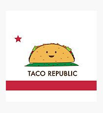 Taco Republic Photographic Print