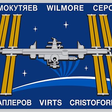 Expedition 42 Mission Patch by Spacestuffplus