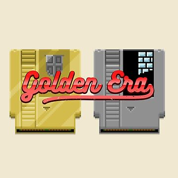 Golden Era [Pixel Art] by carlostato