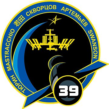 Expedition 39 Mission Patch by Spacestuffplus
