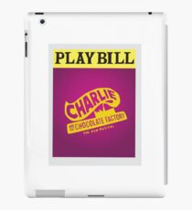 Charlie and the Chocolate Factory Playbill iPad Case/Skin