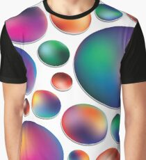 Red Bubbles Graphic T-Shirt