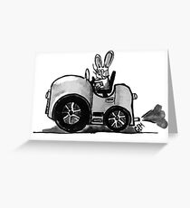 Quirky Transportation Greeting Card