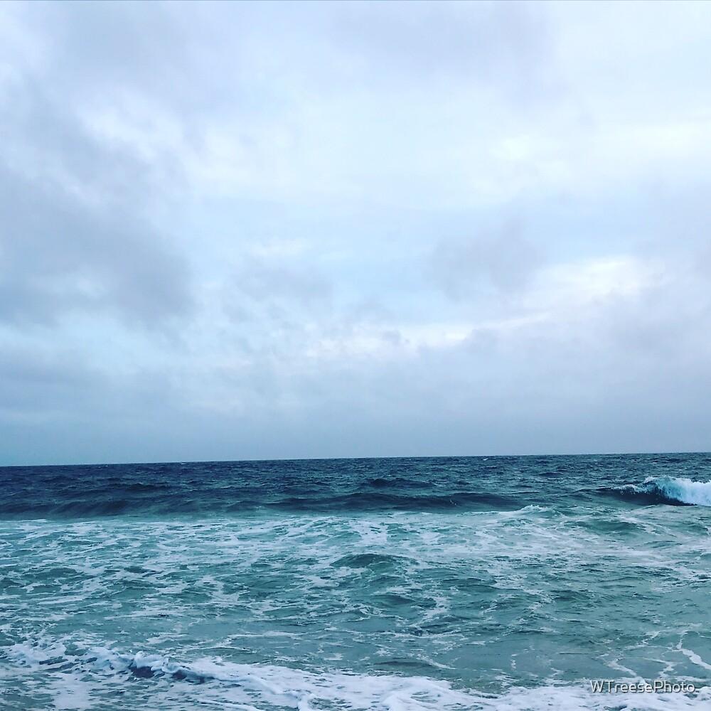 Ocean Waves & CloudScape by WTreesePhoto