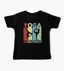 Yoga Instructor Vintage Retro Kids Clothes