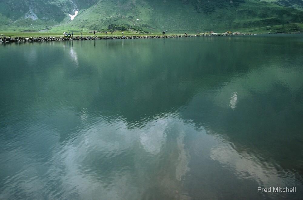 On the walk around Lake Trubsee Switzerland 19840815 0057 by Fred Mitchell