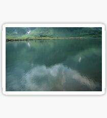 On the walk around Lake Trubsee Switzerland 19840815 0057 Sticker