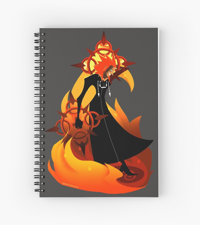Fiery Axel by MintySkulls
