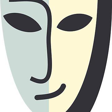 Mask by elyomys