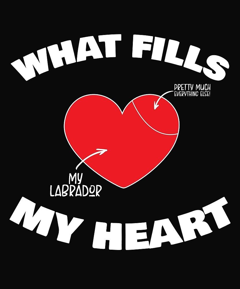 My Labrador Fills My Heart by karmcg