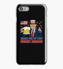 Make 4th of July Great Again iPhone Case/Skin