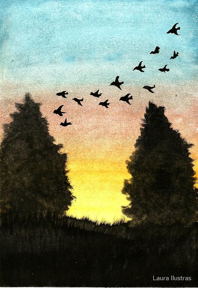 Birds by Laura Oliveira