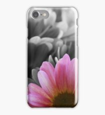 Partially Saturated Flower  iPhone Case/Skin
