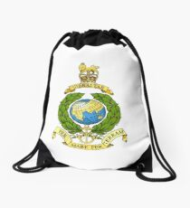 Royal Marines Emblem Drawstring Bag