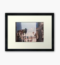 Croatia - lomography Framed Print