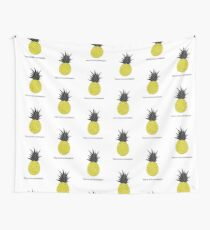 This is not a pineapple. Wall Tapestry