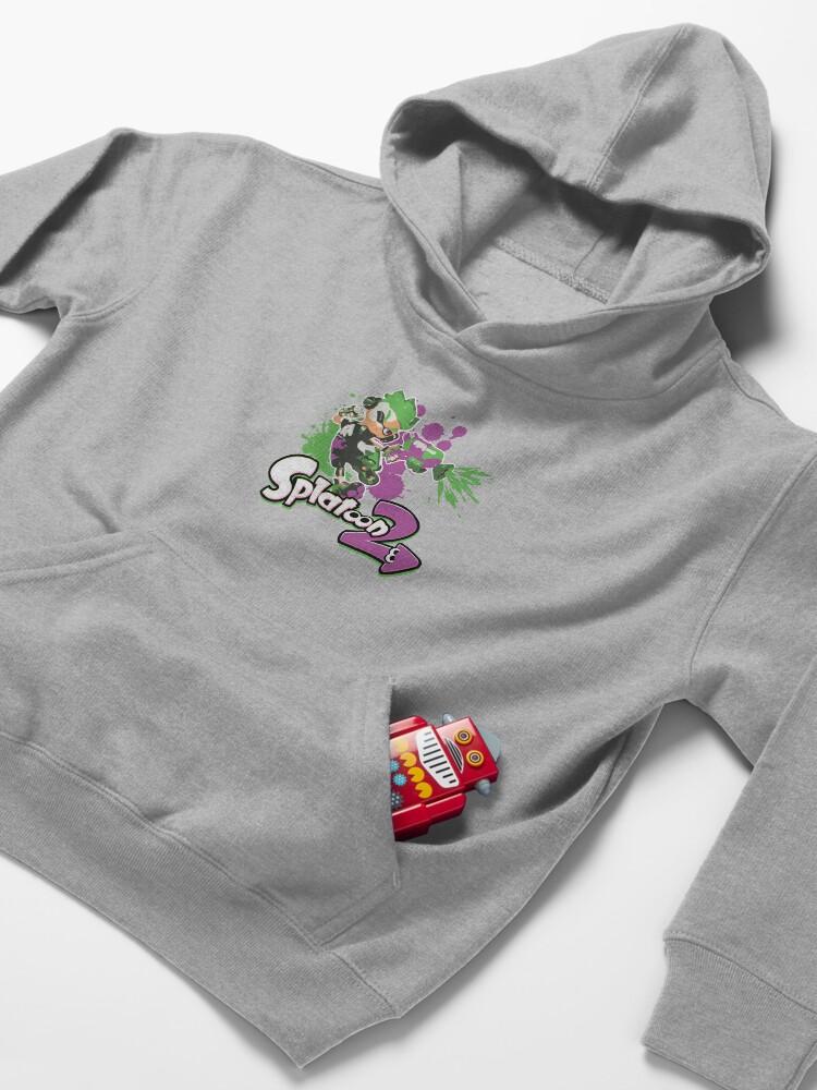 Vista alternativa de Sudadera con capucha para niños Splatoon 2 Inkling Boy
