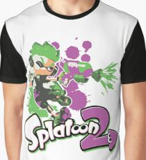 Splatoon 2 Inkling Boy Graphic T-Shirt
