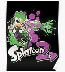 Splatoon 2 Inkling Boy Poster