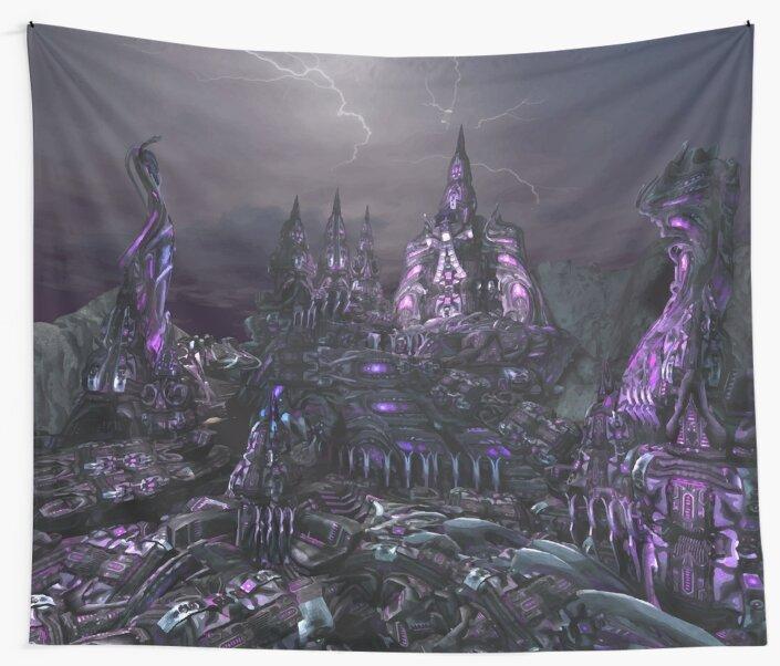 Alien City by NomadicMarket