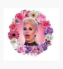 Shocked Katya Zamolodchikova - Rupaul's Drag Race All Stars 2 Photographic Print
