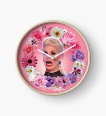 Shocked Katya Zamolodchikova - Rupaul's Drag Race All Stars 2 Clock