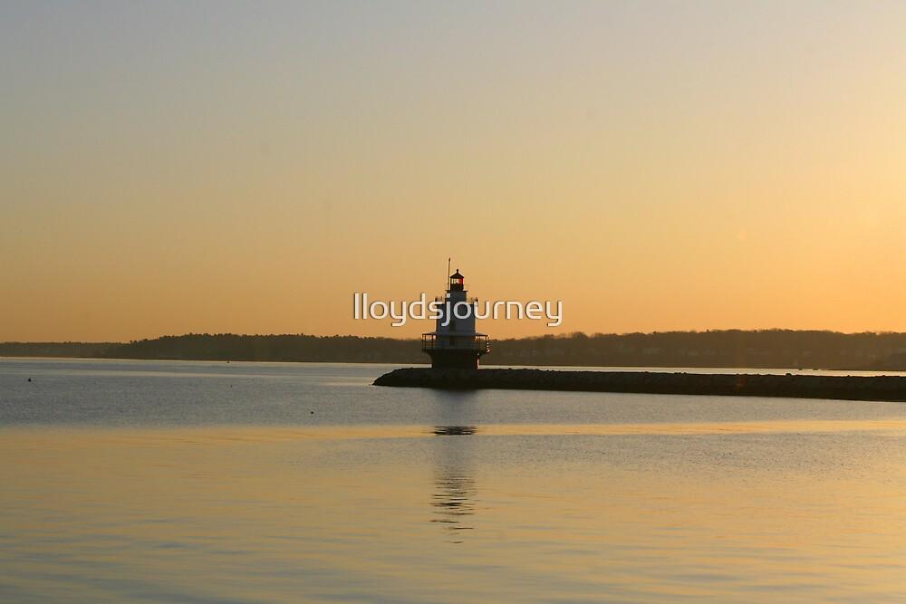 Sunrise at Spring Point Light by lloydsjourney
