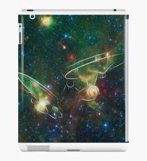 Enterprise Nebula With Outline of the Starships iPad Case/Skin