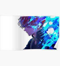 Boku no Hero - Todoroki  Poster
