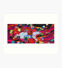 "KAWS, ""Silent City"" 2011 Art Print"