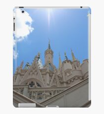 Under view of the Castle  iPad Case/Skin