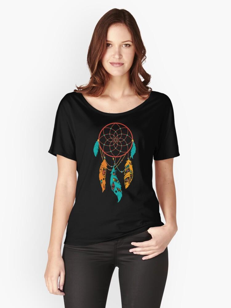Dream Catcher, Dreamcatcher Women's Relaxed Fit T-Shirt Front