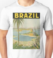 1940s Painting of Brazil Unisex T-Shirt