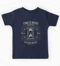 Time Is What We Want Most Kids Tee