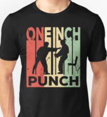 One Inch Punch Kung Fu Vintage Retro Unisex T-Shirt