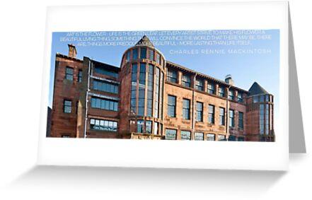 Scotland Street School Glasgow by Mark P Hennessy