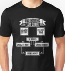 Engineering Flowchart Shirt T-Shirt