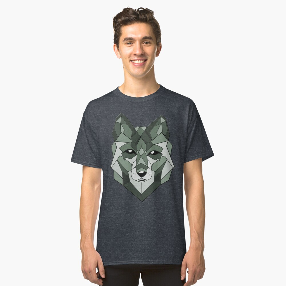 Wolf Animals Classic T-Shirt Front