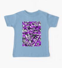 Purple Criss Cross Kids Clothes