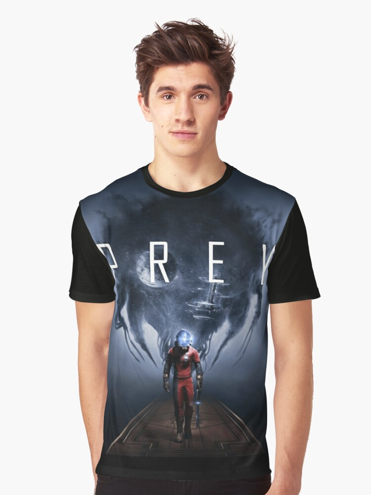 Prey (vector) Graphic T-Shirt Front